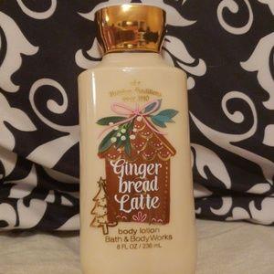 Bath & Body Works Gingerbread Latte lotion